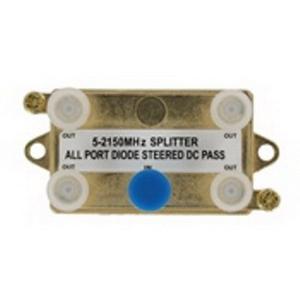 """""""""""Leviton 47690-G4 SMC 4-Way Passive Video Splitter 2 Giga-Hz,"""""""""""" 107363"""