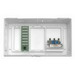 Leviton 47604-F6S Structured Media® Compact Multi-Dwelling Unit Enclosure; Surface/Flush Mount, White