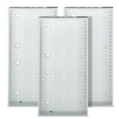 Leviton 47605-28G Structured Media® 280 Series Enclosure; Flush Mount, White