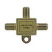 Leviton 40987-2 2-Way CATV Cable Splitter; Lug Mount, 5 - 900 Mega-Hz