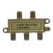 Leviton 40987-4 4-Way CATV Cable Splitter; Lug Mount, 5 - 900 Mega-Hz