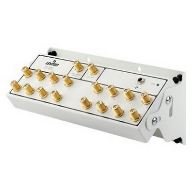 Leviton 47693-16P 1 x 16 Premium CATV Signal Amplifier Module; 1 Giga-Hz, White