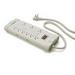 Leviton S2000-S15 Power Strip; 9 Outlet, 15 Amp, 120 Volt, NEMA 5-15R, 15 ft Cord with 5-15P Plug