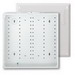 Leviton 47605-140 Structured Media® 140 Series Telecommunication Enclosure With Cover; Flush Mount, White