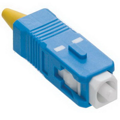 """""""""""Leviton 49990-SSC Fast-Cure Anaerobic Adhesive-Style SC Fiber Optic Connector Singlemode OS2, Blue,"""""""""""" 6409"""