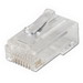 Leviton 47613-EZC Category 5 EZ-RJ45 Modular Plug; Clear