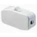 Leviton 5410-W Rocker Appliance Switch; 1-Pole, SPST, 125 Volt AC, 3 Amp, White