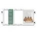 Leviton 47606-BTV Basic Telephone and Video Panel; 10-Port
