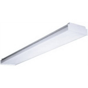 Hubbell Lighting / Columbia SHLD-AWW-4FT Replacement Lens; For 4 ft Wraparound Fixture