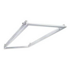 Hubbell Lighting / Columbia FK24 Flange Kit; Extruded Aluminum Frame, 4 ft Length x 2 ft Width