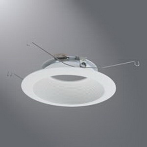 Cooper Lighting 693BB Halo® Ceiling Mount 693-Series 6 Inch Baffle Trim; Aluminum Housing