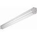 Cooper Lighting APS-WS232 ALLPRO® 2-Light Surface Mount Wide Fluorescent Striplight Fixture; 64 Watt, Baked White Enamel