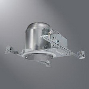 Cooper Lighting H7ICAT Halo® 1-Light Ceiling Mount Line Voltage 6 Inch Air-Tite Housing; Die-Cast Aluminum, Insulated