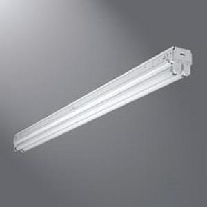Cooper Lighting SNF-120-LTS-120V-U 1-Light Unit Pack Fluorescent Strip Fixture; 20 Watt