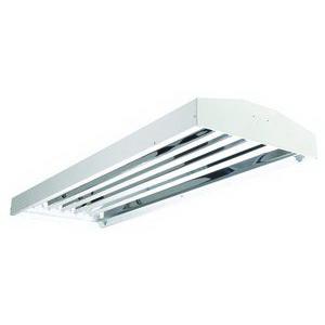 Cooper Lighting HBI454HT5-L5 Metalux™ 4-Light Narrow Beam Fluorescent High Bay Fixture; 54 Watt, White Enamel, Lamp Included