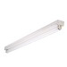 Cooper Lighting APS-NS132 1-Light Surface Mount General Purpose Narrow Fluorescent Striplight Fixture; 32 Watt, Baked White Enamel