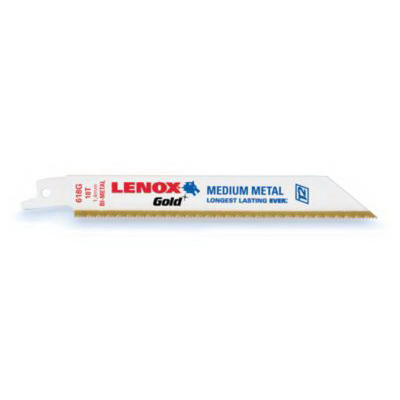 Lenox 21073824GR T2 Reciprocating Saw Blade 8 Inch Length x 0.750 Inch Width x 0.035 Inch Thick- 24 TPI- Bi-Metal Blade-