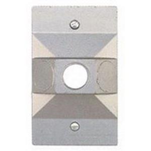 BWF/Teddico A-20 Slip Fitter Pole Top Adapter; Metal, 1/2 Inch NPT