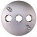 BWF/Teddico CR-3AV Lamp Holder Cover; Die-Cast Metal
