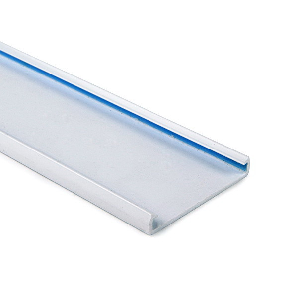 Hellermann Tyton 181-91507 Type TC Wiring Duct Cover; 6 ft Length x 1.500 Inch Width Gray, PVC