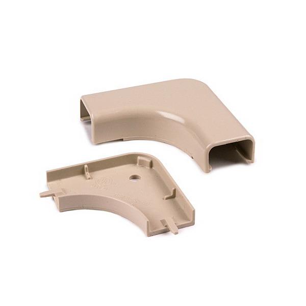 Hellermann Tyton TSRP2I-25-1 Elbow Cover; Ivory, PVC