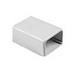 Hellermann Tyton TSR3W-36 End Cap; 1-3/4 Inch Width White, PVC, 10/PK