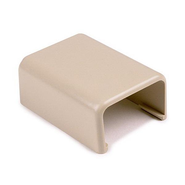 Hellermann Tyton TSRP1I-14 Splice Cover; Ivory, PVC, 10/PK