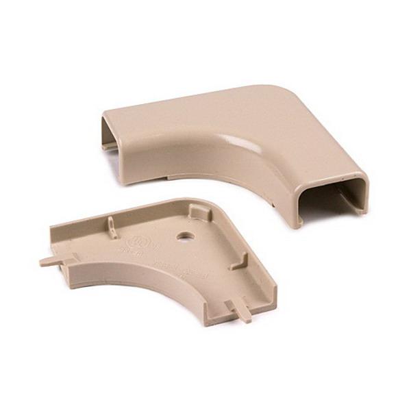 Hellermann Tyton TSRP1I-25-1 Elbow Cover; Ivory, PVC, 10/PK