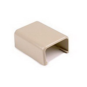 Hellermann Tyton TSRP1I-36 Power Rated Raceway End Cap; 3/4 Inch Width Ivory, PVC, 10/PK