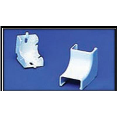 Hellermann Tyton TSRP3I-33-1 Internal Corner Cover; Ivory, PVC, 10/PK