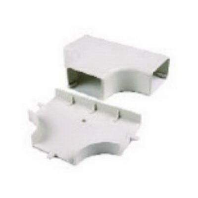 Hellermann Tyton TSRP1I-21-1 Tee Cover; Ivory, PVC, 10/PK