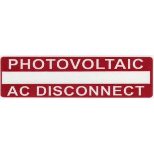 Hellermann Tyton 596-00237-1 Printable Solar Label; 3.750 Inch Length x 1 Inch Width, Red, Vinyl