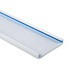 Hellermann Tyton TC1W4 Type TC Wiring Duct Cover; 6 ft Length x 1 Inch Width White, PVC