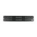 Hellermann Tyton P108-24-MOD Category 5e RJ45 Modular Patch Panel; Cabinet/Rack/Wall Mount, 24-Port, Black