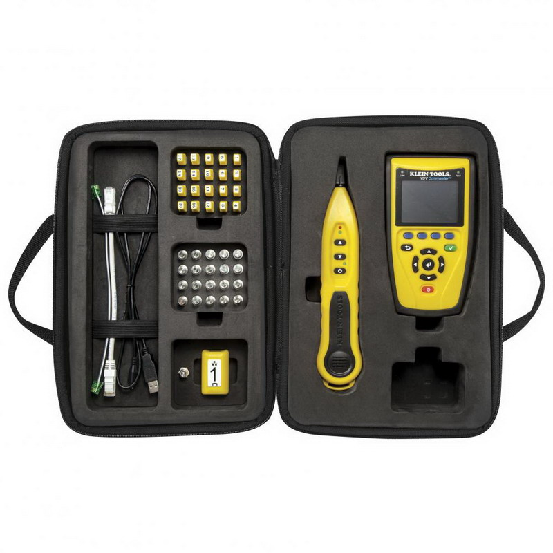 Klein Tools VDV501829 VDV Commander Test and Tone Kit-