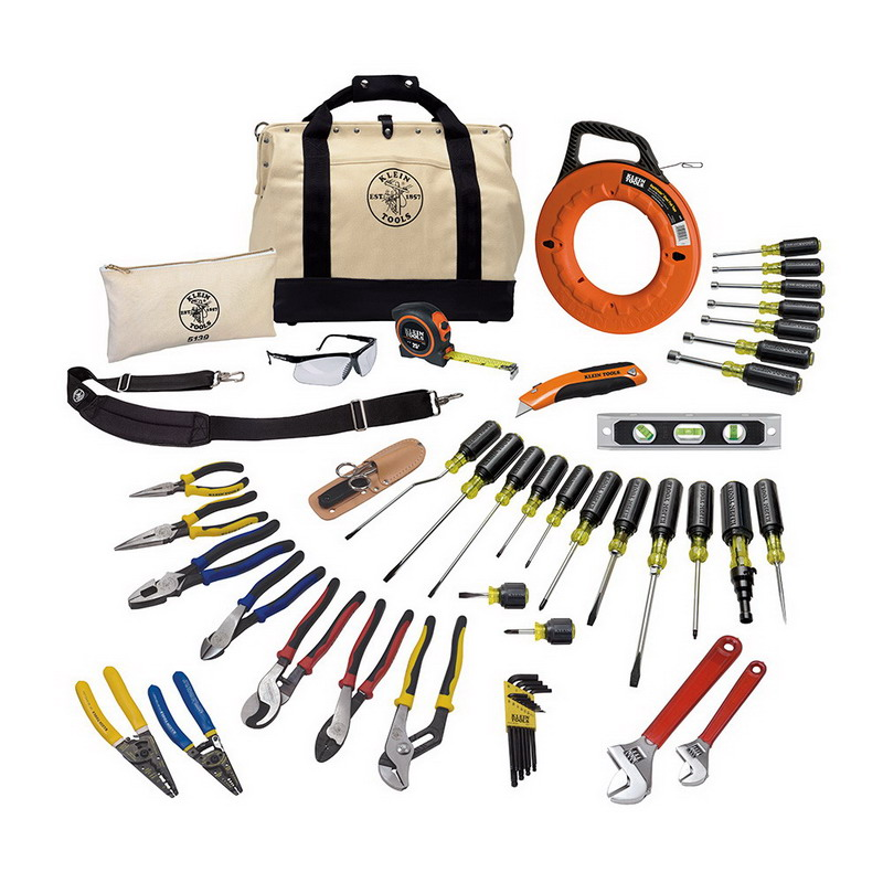Klein Tools 80141 Journeyman Tool Set; 41 Pieces