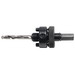 Klein Tools 31672 Tri-Lobe Shank Pilot Drill Bit; 1/4 Inch Nom, 4.5 Inch Length, Tempered High Speed Steel
