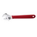 Klein Tools D507-8 Extra-Capacity Adjustable Wrench; High Polish Chrome, 1-1/8 Inch Jaw Capacity, 8.375 Inch Length