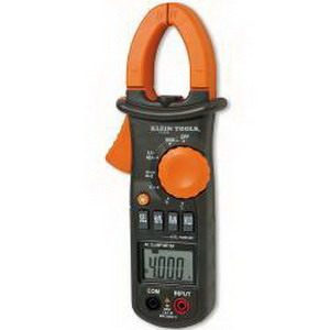 Klein Tools CL200 Clamp Meter With Temperature; 600 Amp AC