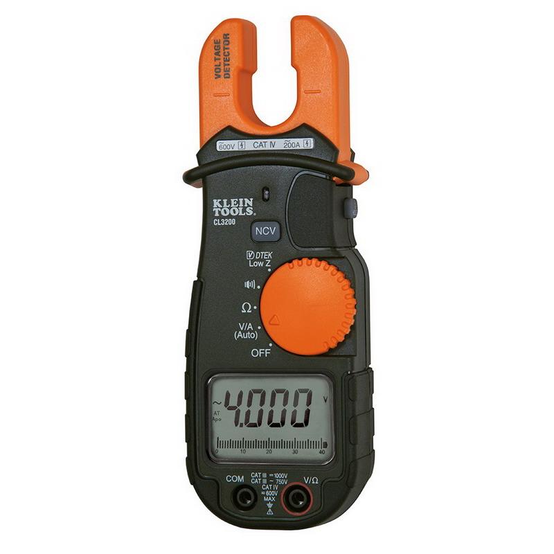"""Klein Tools CL3200 Fork Tester 750 Volt, 200 Amp,"""""""