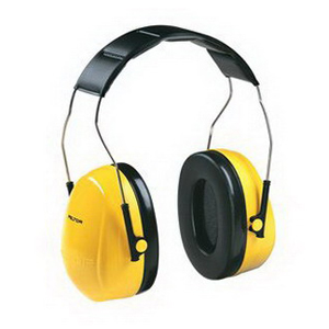 3M H9A Peltor™ Optime™ Over-the-Head Earmuffs; ABS, Yellow, 26 DB