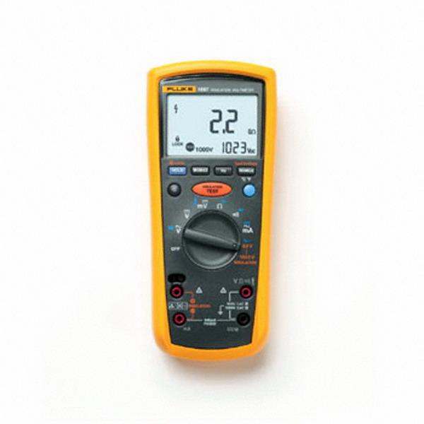 "Fluke FLUKE-1587 Insulation Multimeter 1587, 1000 Volt AC/DC, 400 Milli-Amp AC/DC, 100 Kilo Hz, 50 mega-ohm,"""