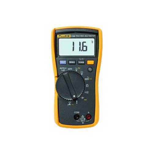 Fluke FLUKE-117 Electrician True RMS Multimeter With Contact; 0 - 600 Volt, 40 mega-ohm