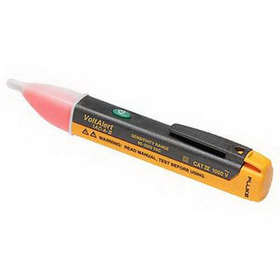 Fluke FLUKE-1LAC-A-II VoltAlert™ Pocket Size Voltage Detector; 20 - 90 Volt AC,Glow Red Display