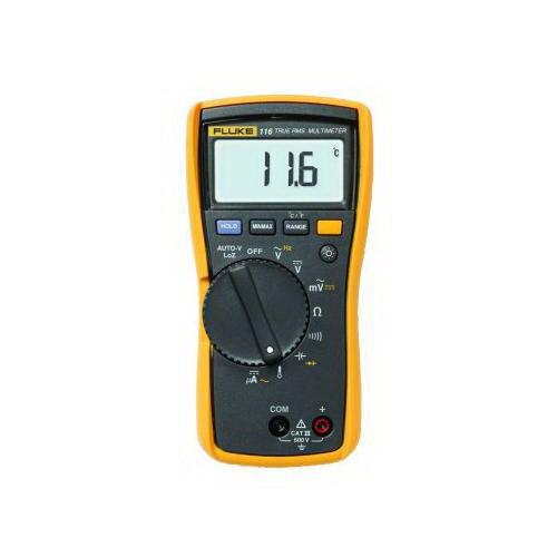 Fluke FLUKE-116 HVAC True RMS Multimeter; 0 - 600 Volt, 40 mega-ohm