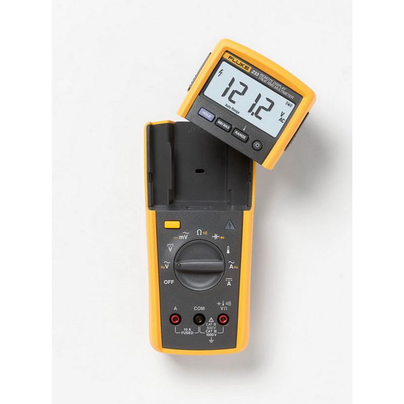 Fluke FLUKE-233 True-RMS Remote Display Multimeter; 0 - 1000 Volt, 10 Amp, 40 mega-ohm