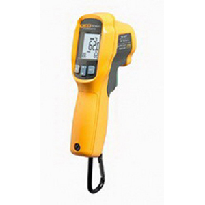 Fluke FLUKE-62-MAX-+ Infrared Thermometer; +/- 1 deg C Or +/- 1% Of Reading, -30 to 650 deg C, +/- 0.5% Reading