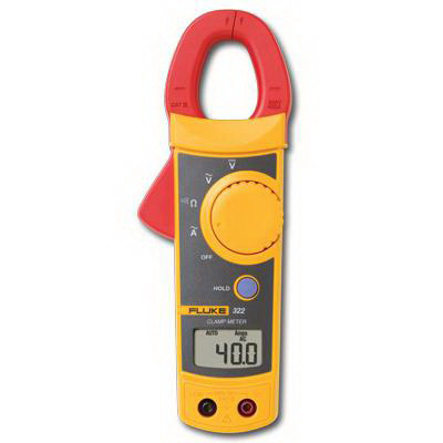 "Fluke ACDC-400 Digital Clamp-On Multimeter 0 - 600 Volt, 2000 Count LCD Display,"""