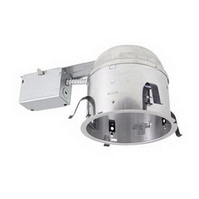 Elite Lighting B26RICAT PAR30/BR30/A19 Shallow Remodel Housing; 75 Watt, Mechanical, Insulated Ceiling