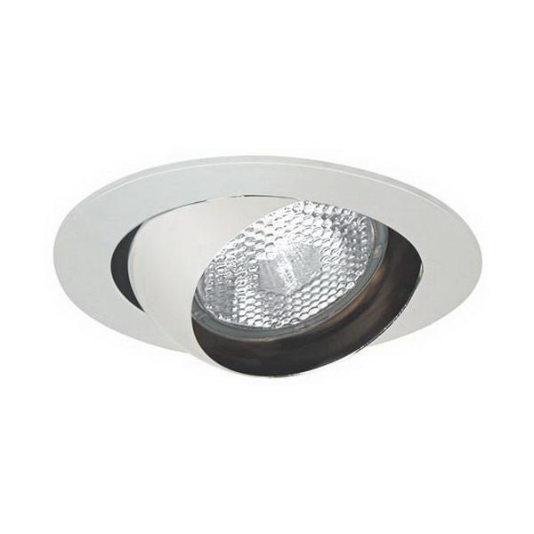 Elite Lighting B403WH Eyeball Trim; White, 4.875 Inch Dia